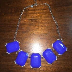 Banana Republic Blue Gemstone Necklace